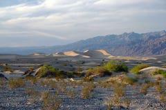De mening van de woestijn van doodsvallei Stock Afbeeldingen
