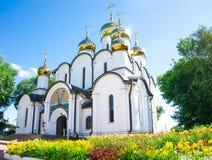 De mening van de zomer van klooster Stock Fotografie