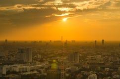 De mening van de zonsondergang Royalty-vrije Stock Afbeelding