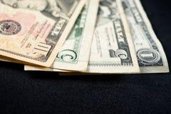 De mening van dollarbankbiljetten