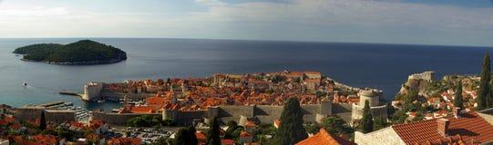 De mening van Dubrovnik Stock Fotografie