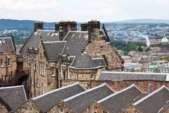 De mening van Edimburgh royalty-vrije stock afbeelding