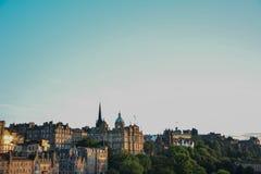 De mening van Edinburgh Royalty-vrije Stock Afbeelding