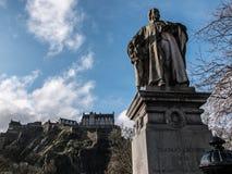 De mening van Edinburgh royalty-vrije stock fotografie