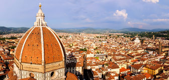 De mening van Florence stock foto's