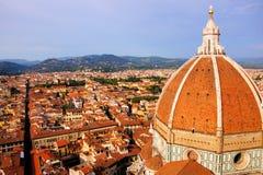 De mening van Florence royalty-vrije stock fotografie