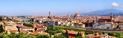 De mening van Florence royalty-vrije stock foto's