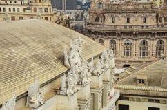 De mening van Genua Royalty-vrije Stock Fotografie