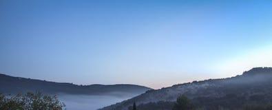 De mening van Granada, Spanje van vallei van villa Royalty-vrije Stock Foto's
