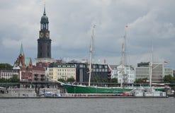 De Mening van Hamburg stock foto