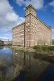 De Victoriaanse industriële bouw Stock Afbeelding