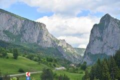 De mening van het berglandschap in Noord-Turkije Royalty-vrije Stock Foto