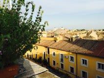 De mening van het dak van Rome, Italië Royalty-vrije Stock Afbeeldingen
