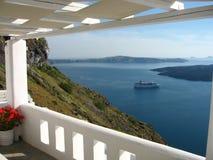 De mening van het eiland Royalty-vrije Stock Foto