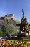 De Mening van het kasteel Stock Foto's