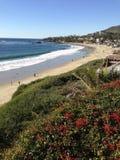 De Mening van het Laguna Beach Royalty-vrije Stock Foto's