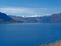 De mening van het meer. Stock Foto