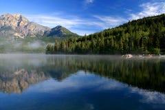 De mening van het meer Royalty-vrije Stock Foto