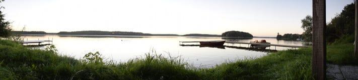De mening van het meer Stock Foto