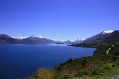 De Mening van het meer, Nieuw Zeeland Royalty-vrije Stock Afbeeldingen