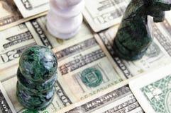 De mening van het schaak Stock Fotografie