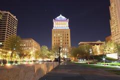 De mening van het stadspark Stock Fotografie