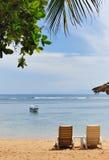 De mening van het strand Royalty-vrije Stock Foto