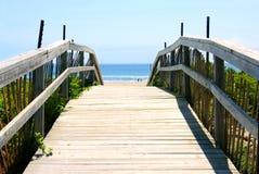 De mening van het strand Stock Afbeelding