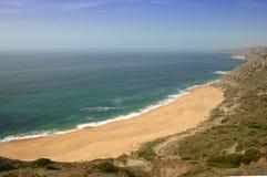 De mening van het strand Stock Foto's