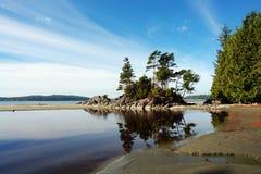 De mening van het strand royalty-vrije stock afbeeldingen