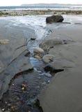 De mening van het strand in florenciabaai Stock Fotografie