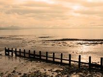 De Mening van het Strand van Pwllheli Royalty-vrije Stock Afbeelding