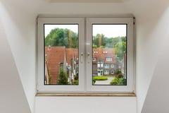 De mening van het venster Royalty-vrije Stock Fotografie
