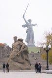 De mening van het vierkant bevond zich bij de dood van het beeldhouwwerk Royalty-vrije Stock Foto