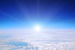 De mening van het vliegtuig Royalty-vrije Stock Foto's