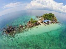 De mening van het vogeloog van Khai Island, Thailand Royalty-vrije Stock Foto