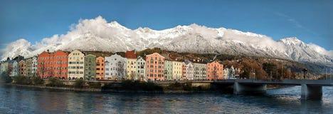 De mening van Innsbruck Stock Afbeelding