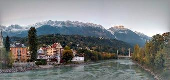 De mening van Innsbruck Royalty-vrije Stock Foto