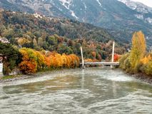 De mening van Innsbruck Royalty-vrije Stock Foto's