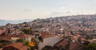 De mening van Istanboel Royalty-vrije Stock Afbeelding