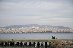 De mening van Istanboel stock foto's