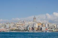 De mening van Istanboel Royalty-vrije Stock Fotografie