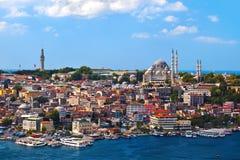 De mening van Istanboel Turkije Royalty-vrije Stock Fotografie
