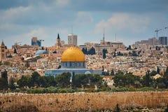 De mening van Jeruzalem Al Aqsa royalty-vrije stock foto