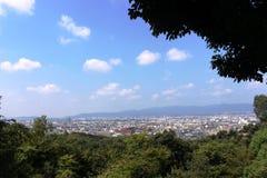 De mening van Kyoto Royalty-vrije Stock Foto's