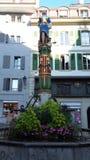 De mening van Lausanne palud Royalty-vrije Stock Fotografie