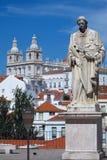 De mening van Lissabon Royalty-vrije Stock Foto's