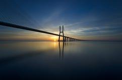 De Mening van Lissabon Stock Foto's