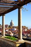 De Mening van Lissabon Royalty-vrije Stock Fotografie