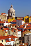 De Mening van Lissabon Stock Afbeeldingen